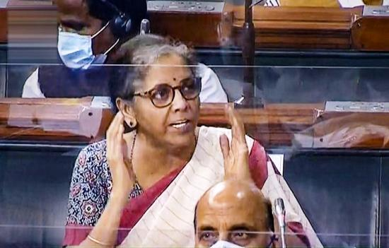NIRMALA SITARAMAN LAW INSIDER IN